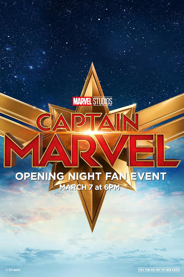 Poster of Opening Night Fan Event Captain Marvel