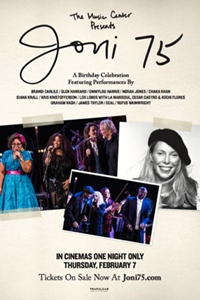 Joni 75: A Birthday Celebration Poster