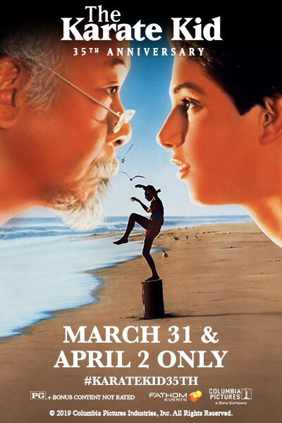 The Karate Kid 35th Anniversary Poster