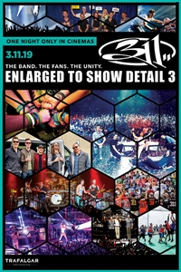 311 Enlarged to Show Detail 3 Poster