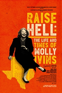 Poster for Raise Hell: The Life & Times of Molly Ivins