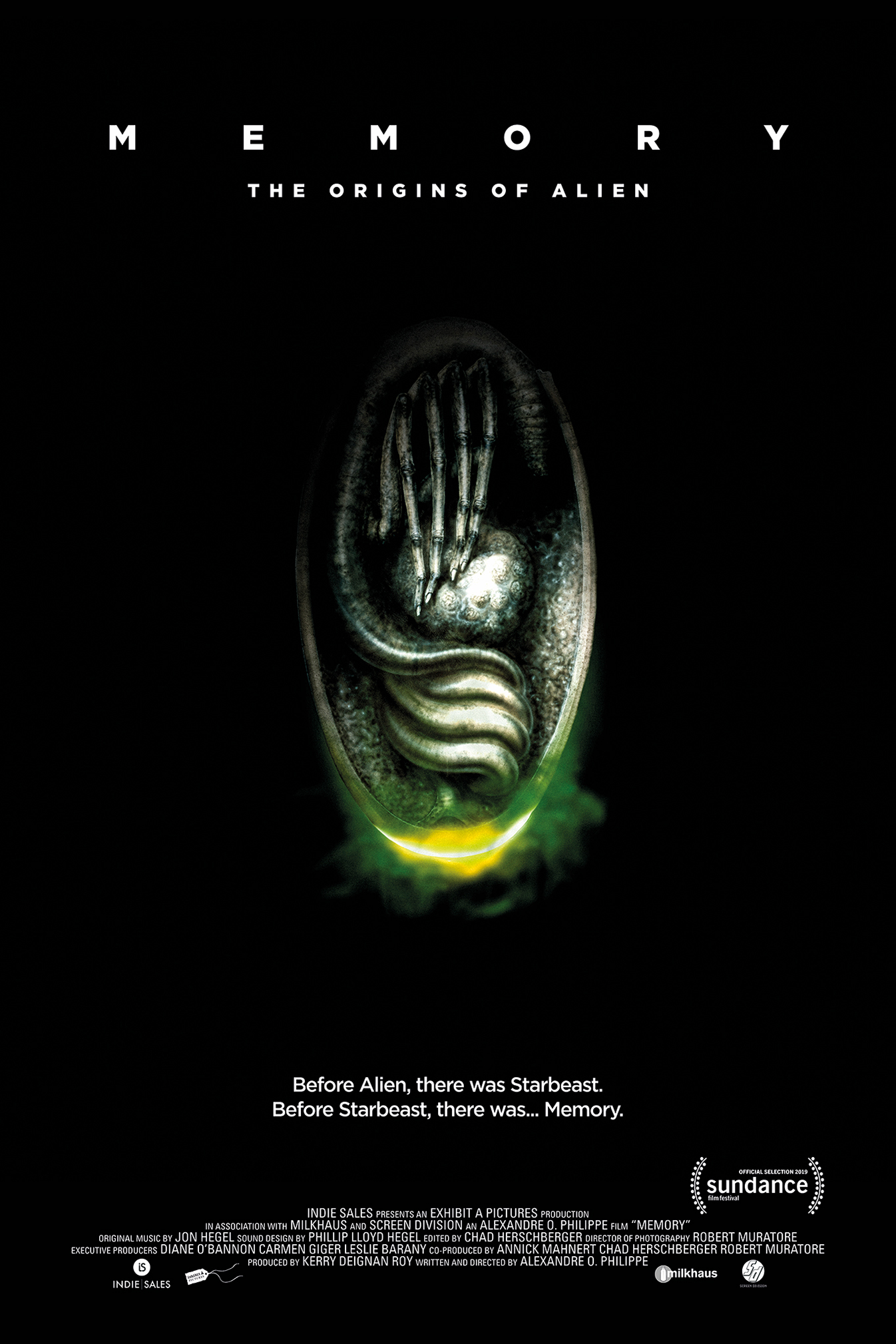 Poster for Memory: The Origins of Alien
