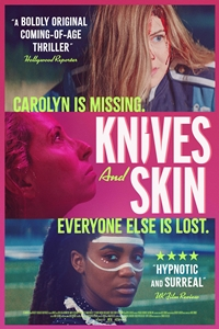 Poster of Knives and Skin