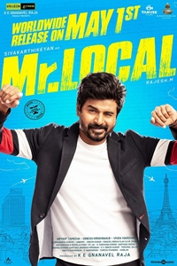 Poster of Mr. Local (Tamil)