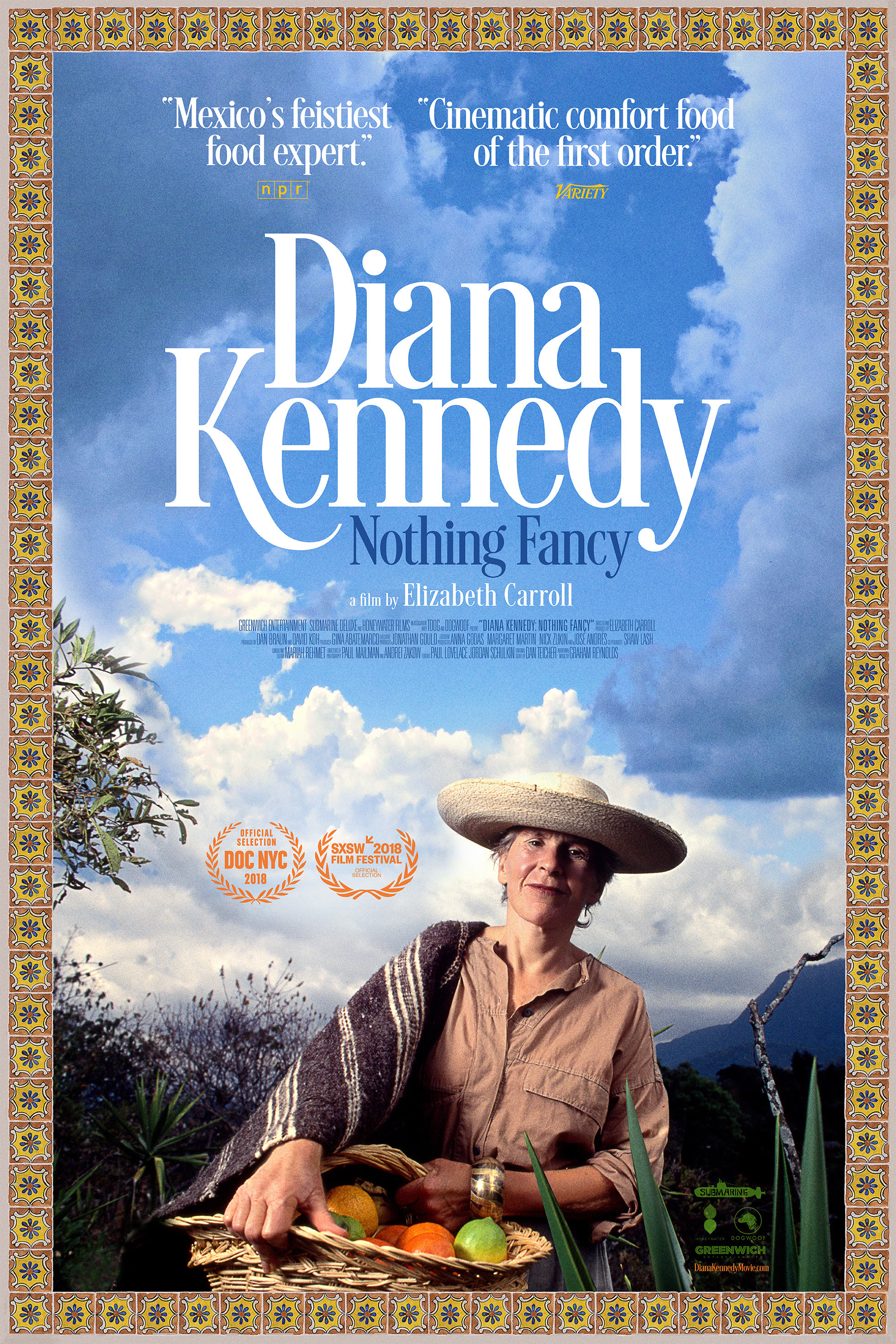 Poster for Diana Kennedy: Nothing Fancy