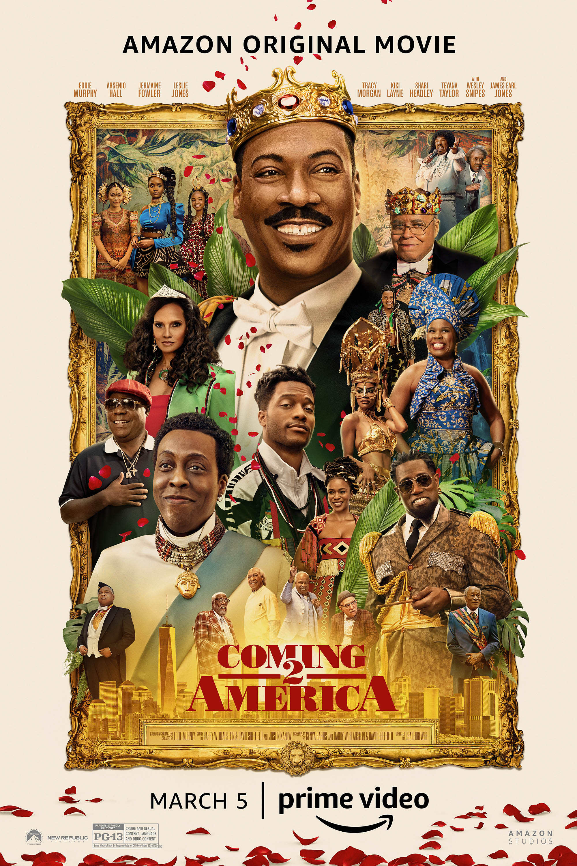 Poster of Coming 2 America