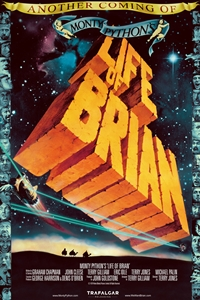 Poster for Monty Python's Life of Brian