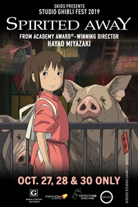 Poster for Spirited Away - Studio Ghibli Fest 2019