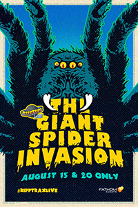 Poster of RiffTrax Live: Giant Spider Invasion