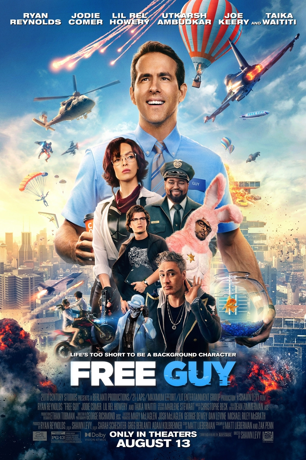 Still of Free Guy