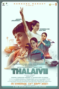 Poster of Thalaivi (Hindi)