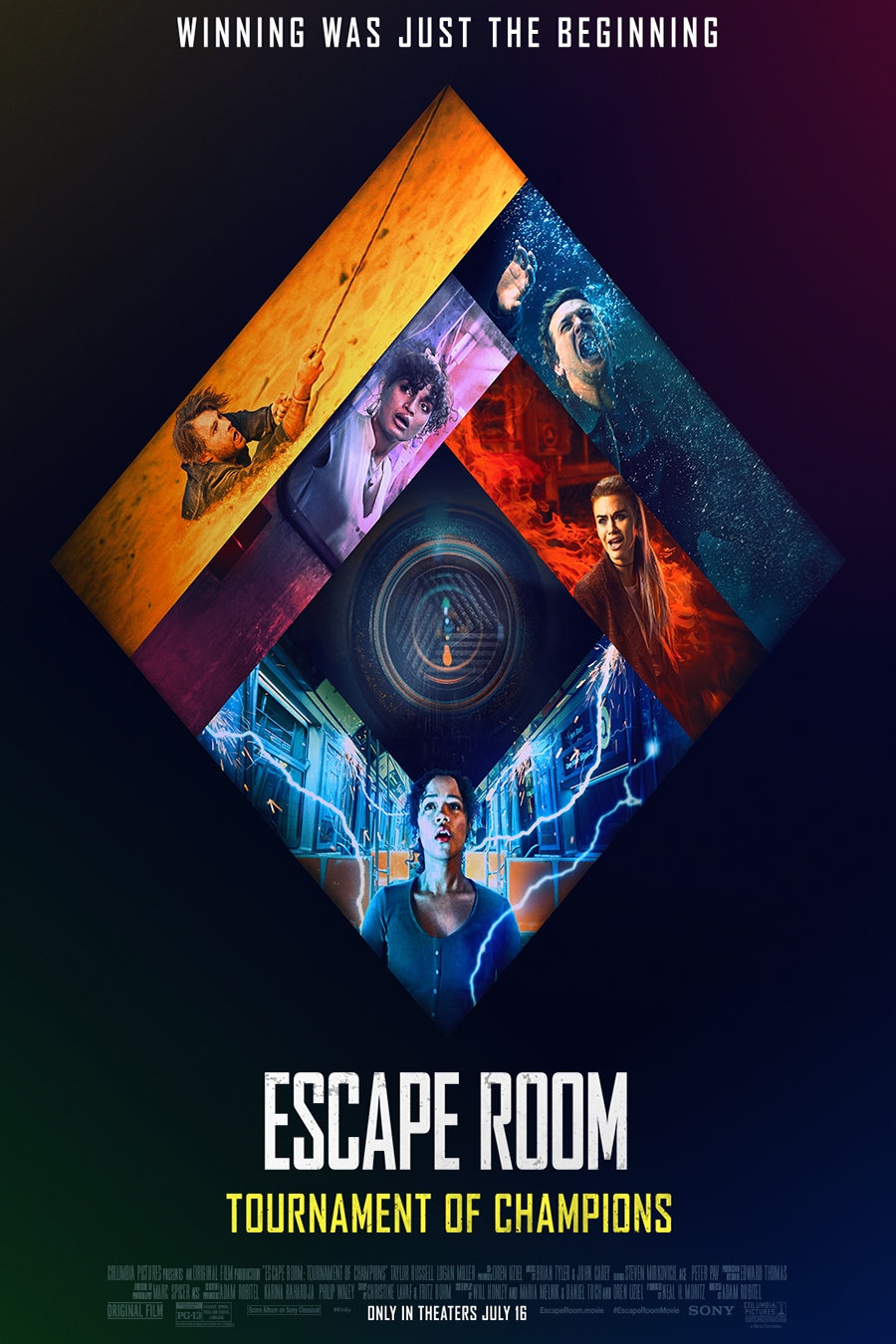 Poster of Escape Room: Tournament of Champions