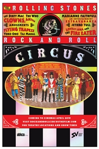 Poster for Rolling Stones Rock & Roll Circus
