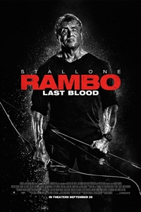 Poster for Rambo: Last Blood