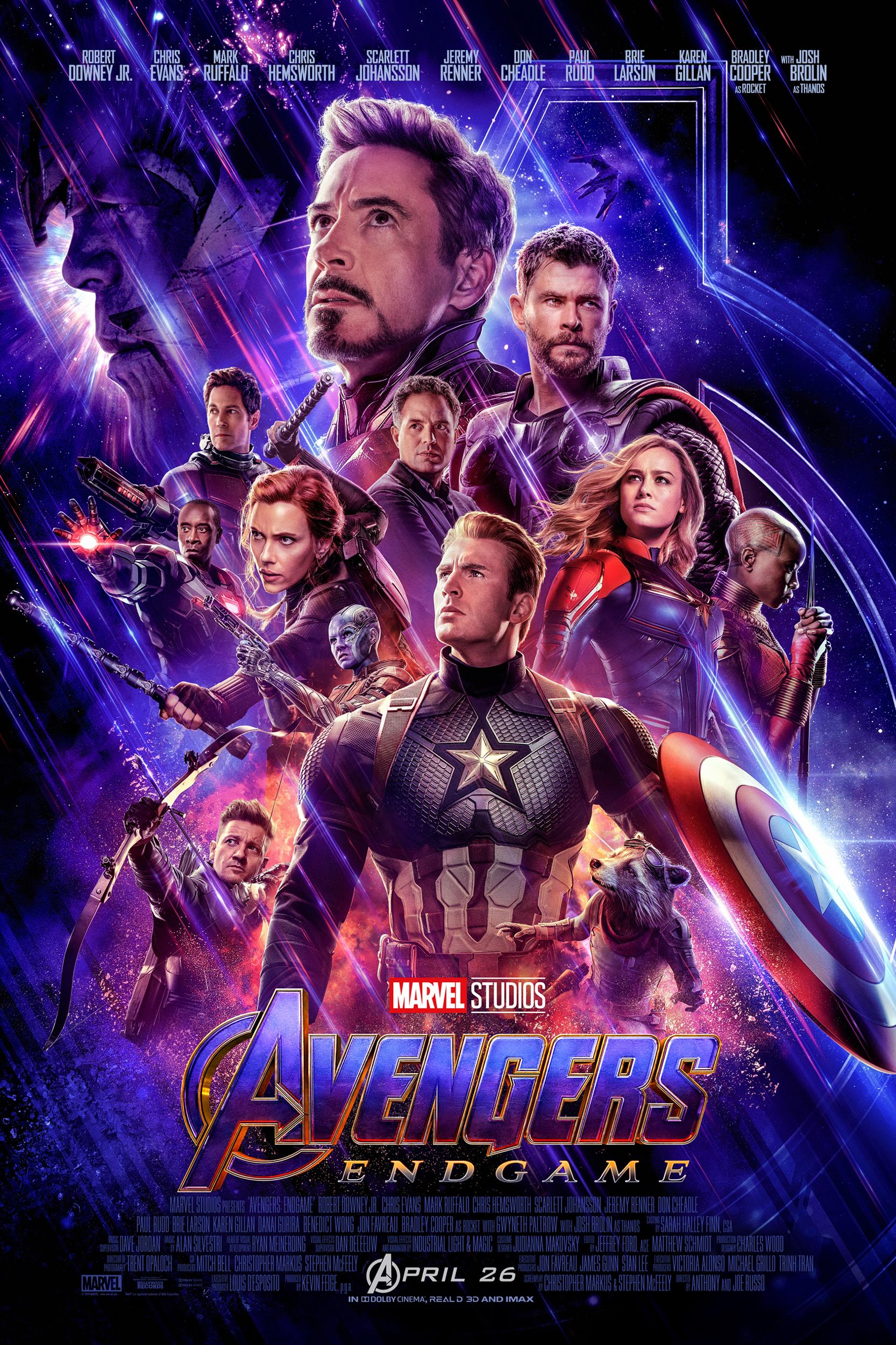 Poster of Avengers: Endgame 3D