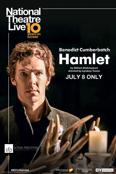 Hamlet - NT Live 10th Anniversary Poster