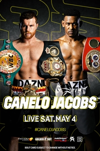 Poster of Canelo vs. Jacobs