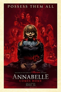 Caption Poster for Annabelle Comes Home