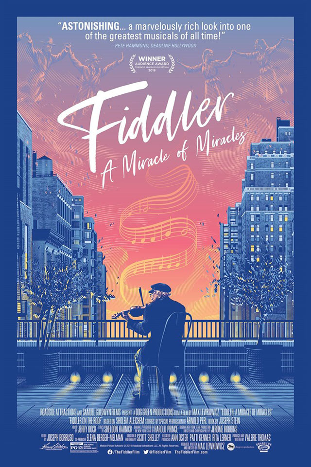 Poster for Fiddler: A Miracle of Miracles