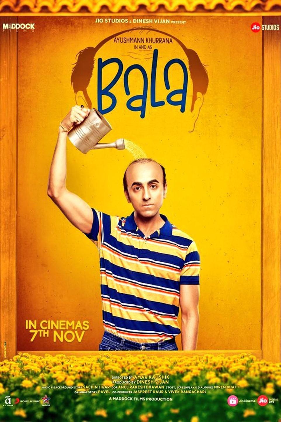 Bala Hindi Movie Times Showcase Cinemas