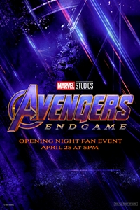Poster for Opening Night Fan Event - Avengers: Endgame