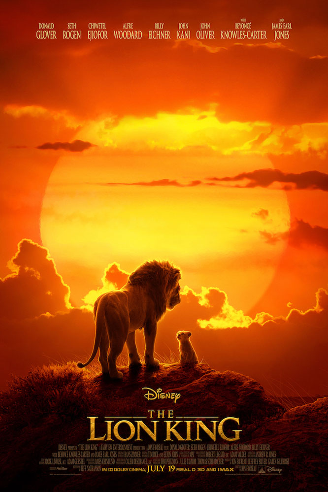 Poster of The Lion King in RealD 3D
