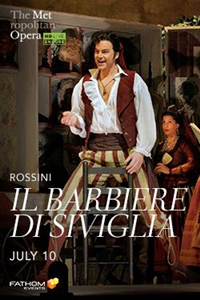 Poster for Met Summer Encore: II Barbiere di Siviglia