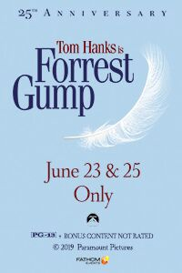 Poster of Forrest Gump 25th Anniversary