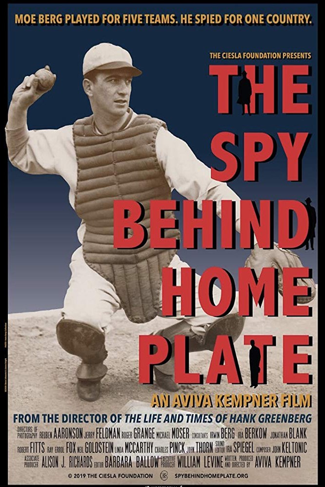 Poster of The Spy Behind Home Plate