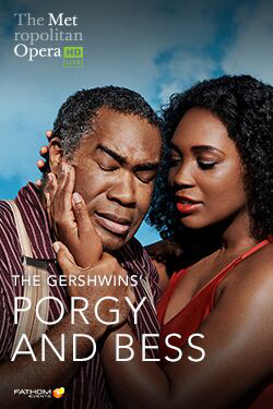 MET Opera 2019-20 Season: Porgy and Bess Poster