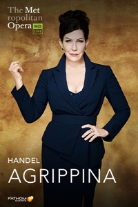 Poster for The Metropolitan Opera: Agrippina