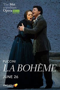 Poster for Met Summer Encore: La Boheme