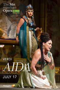 Poster for Met Summer Encore: Aida