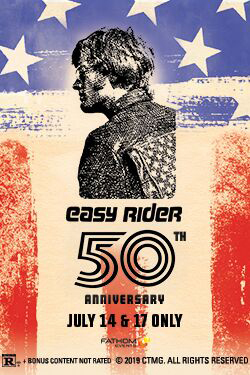 Easy Rider 50th Anniversary Poster