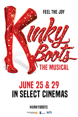 Kinky Boots the Musical Poster