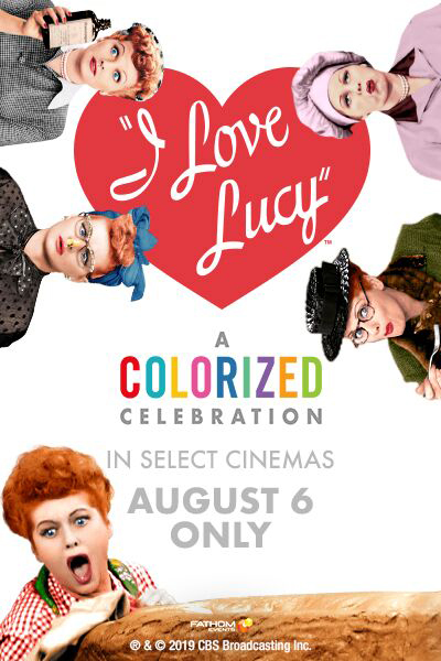 I Love Lucy: A Colorized Celebration