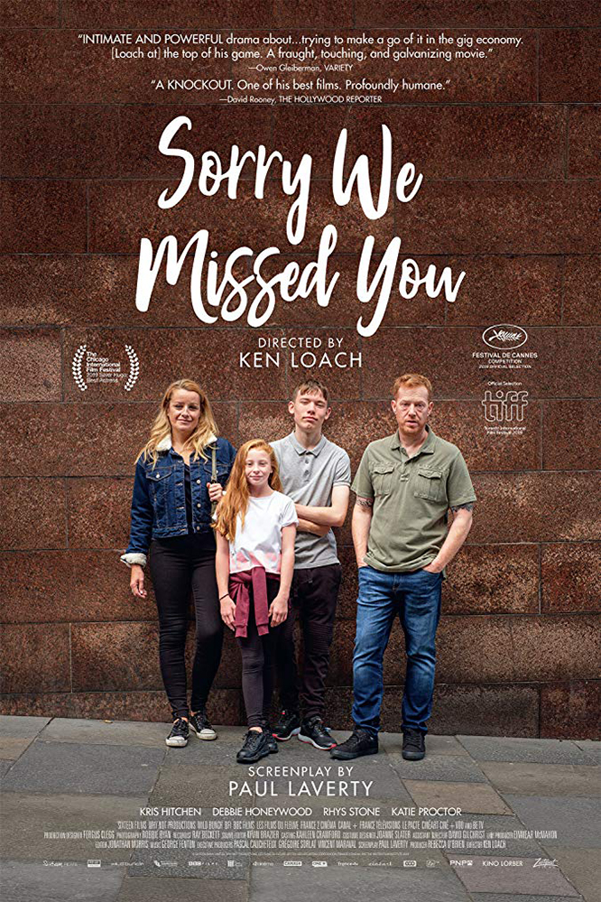 Poster for Sorry We Missed You