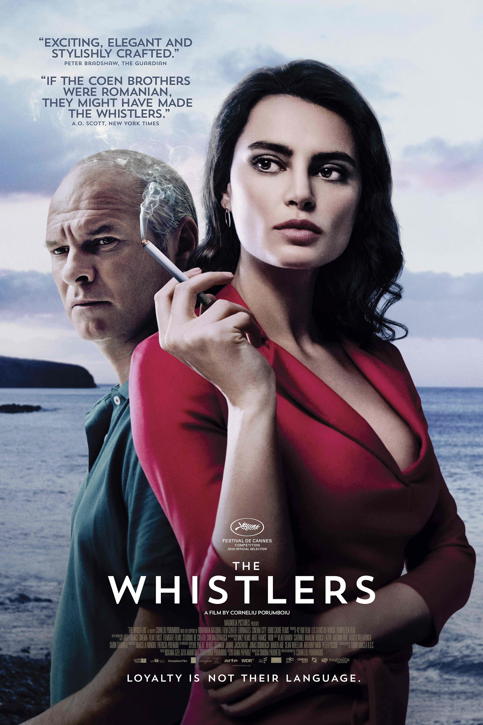 Poster for The Whistlers