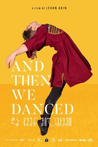 Poster for And Then We Danced (Da cven vicekvet)