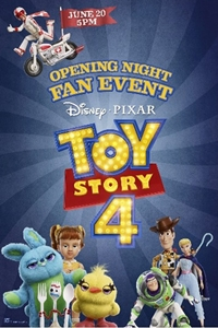 Poster for Opening Night Fan Event: Toy Story 4