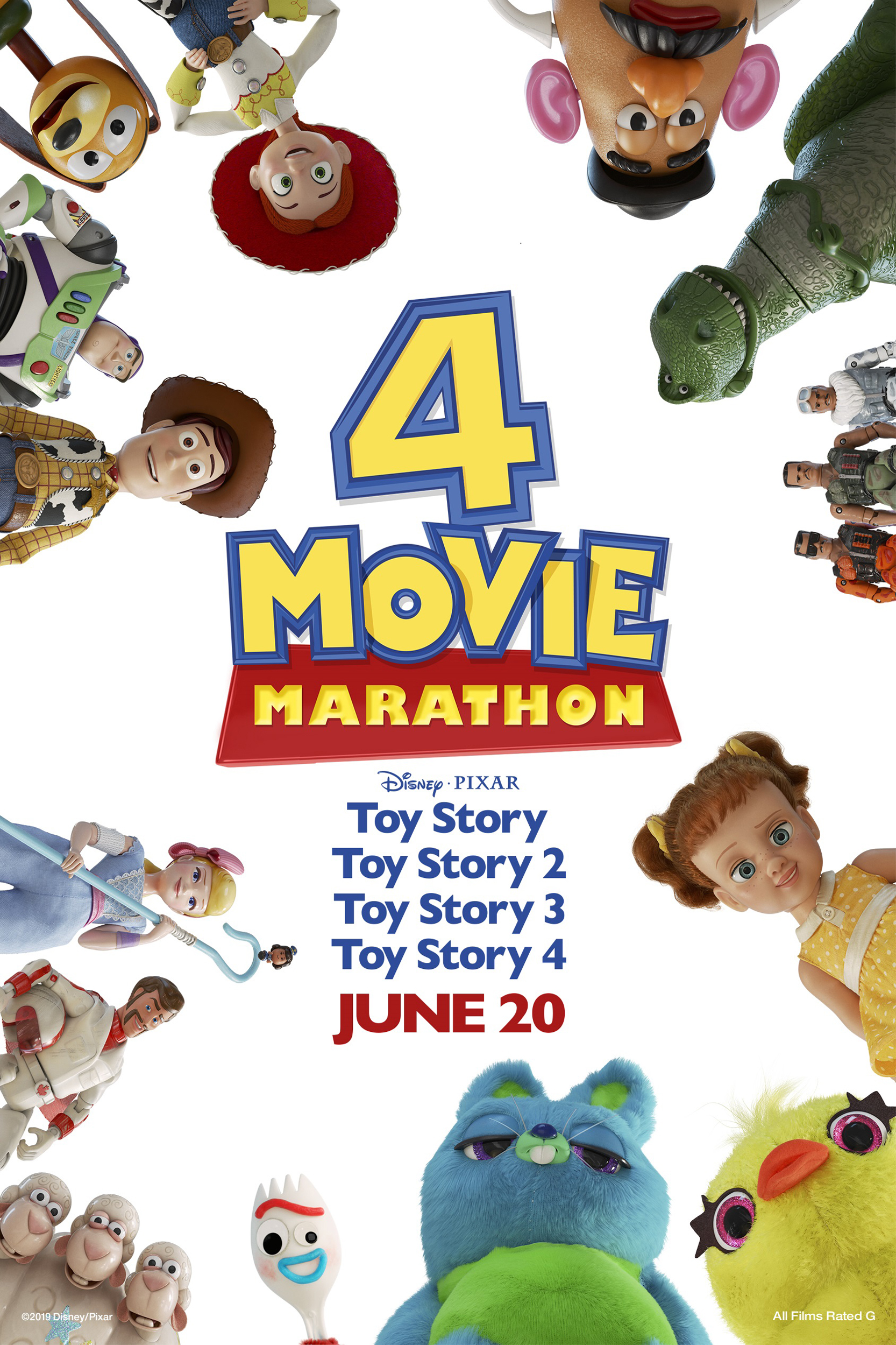 Toy Story 4 Movie Marathon Movie Times   Showcase Cinema ...