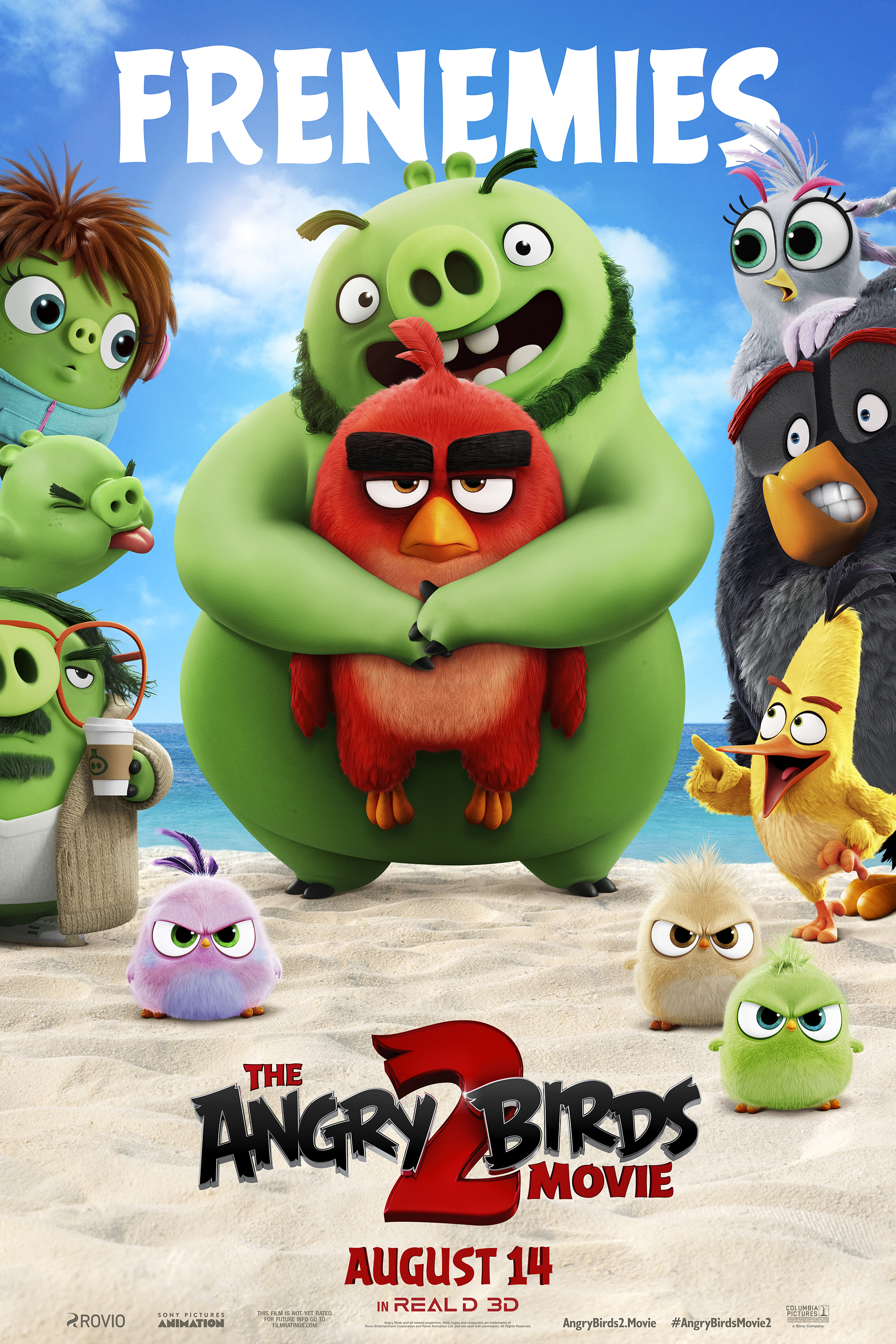 3D Angry Birds Movie 2, The