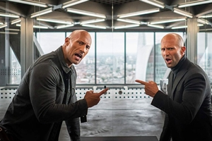 Fast & Furious Presents: Hobbs & Shaw The IMAX 2D Experience Still 1