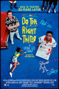 Poster for Do the Right Thing 30th Anniversary