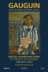 Gauguin: From the National Gallery, London Poster