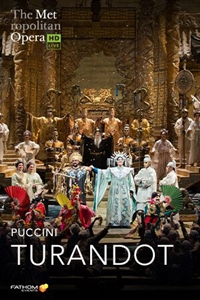 Poster of The Metropolitan Opera: Turandot
