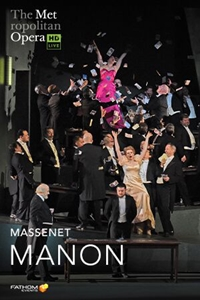 Poster for The Metropolitan Opera: Manon
