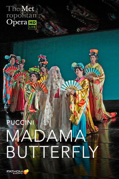 MET 2019-20: Madama Butterfly Encore Poster