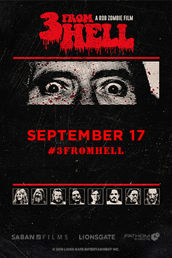 Rob Zombie's 3 From Hell-Night 2 Poster
