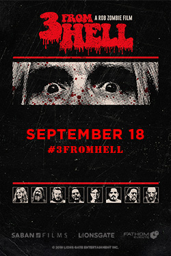 Rob Zombie's 3 From Hell-Night 1 Poster